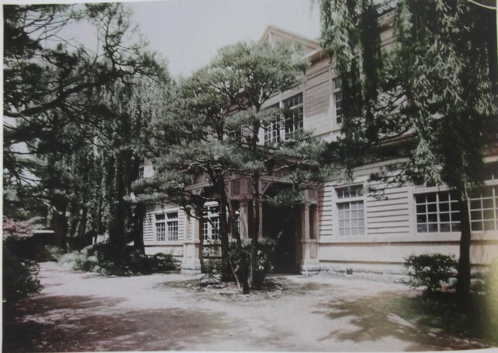 花巻高等女学校校舎